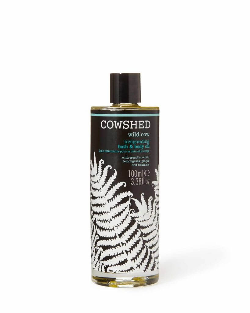 Billede af Cowshed Wild Cow Invigorating Bath & Body Oil (100ml)