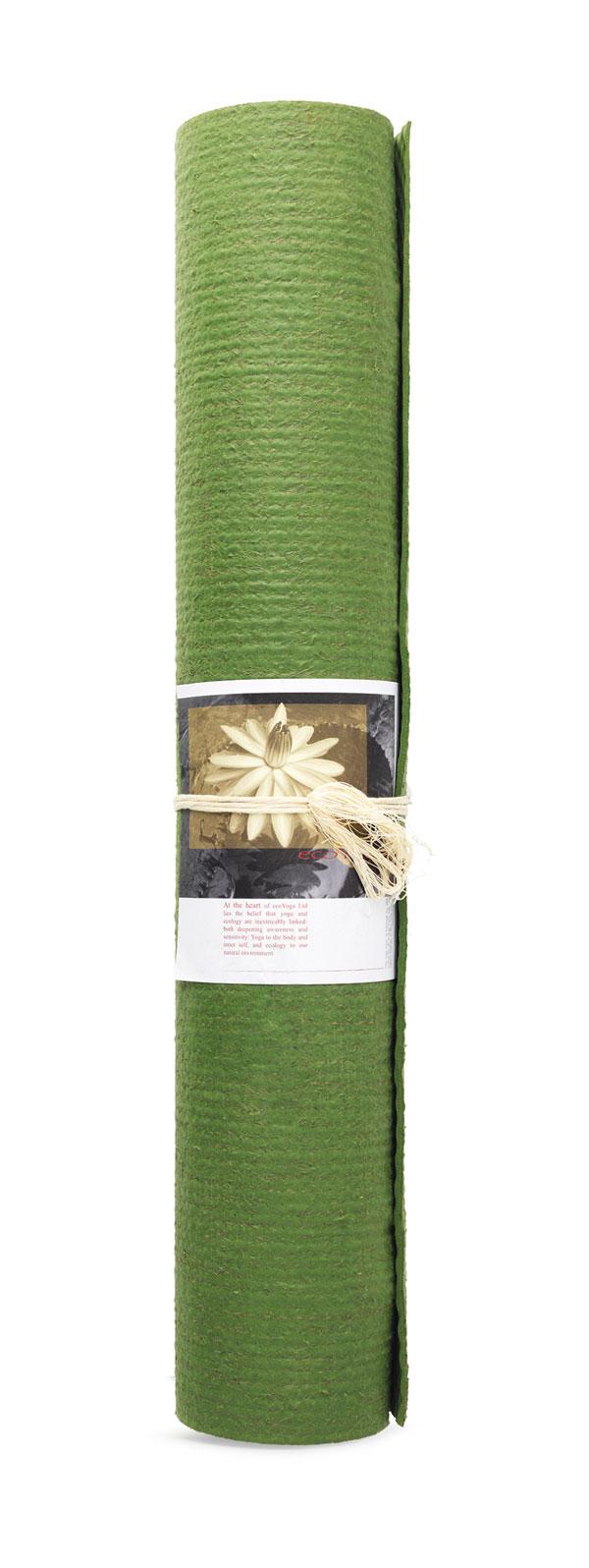 Image of   Ecoyoga grøn yogamåtte