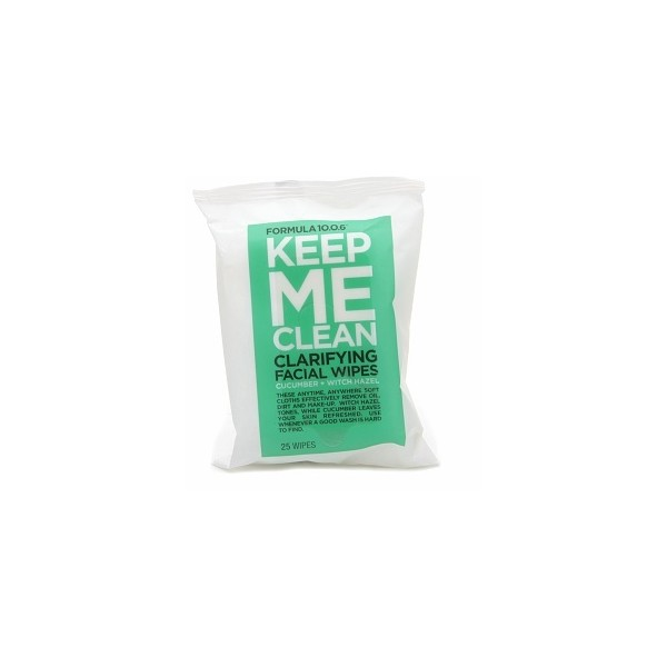 N/A Formula 10.0.6 keep me clean clarifying facial wipes på spashop.dk
