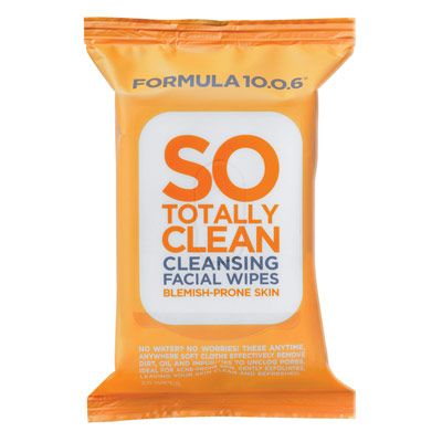 Image of   Formula 10.0.6 So Totally Clean Cleansing Facial Wipes