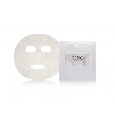 Image of   Ling Ginseng Collagen Paper Mask 1 sheet