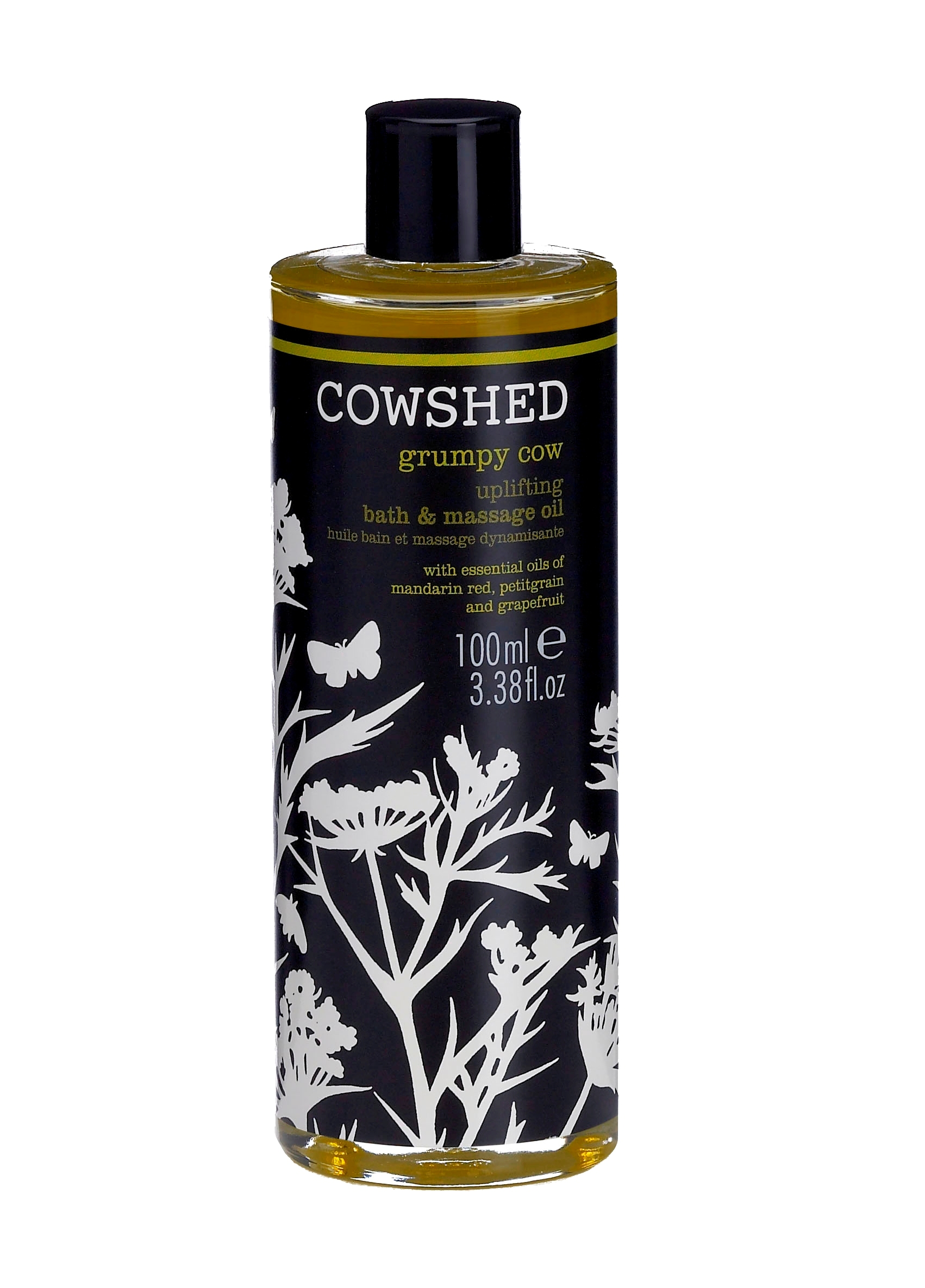 Billede af Cowshed Grumpy Cow Uplifting Bath & Massage Oil 100 ml.