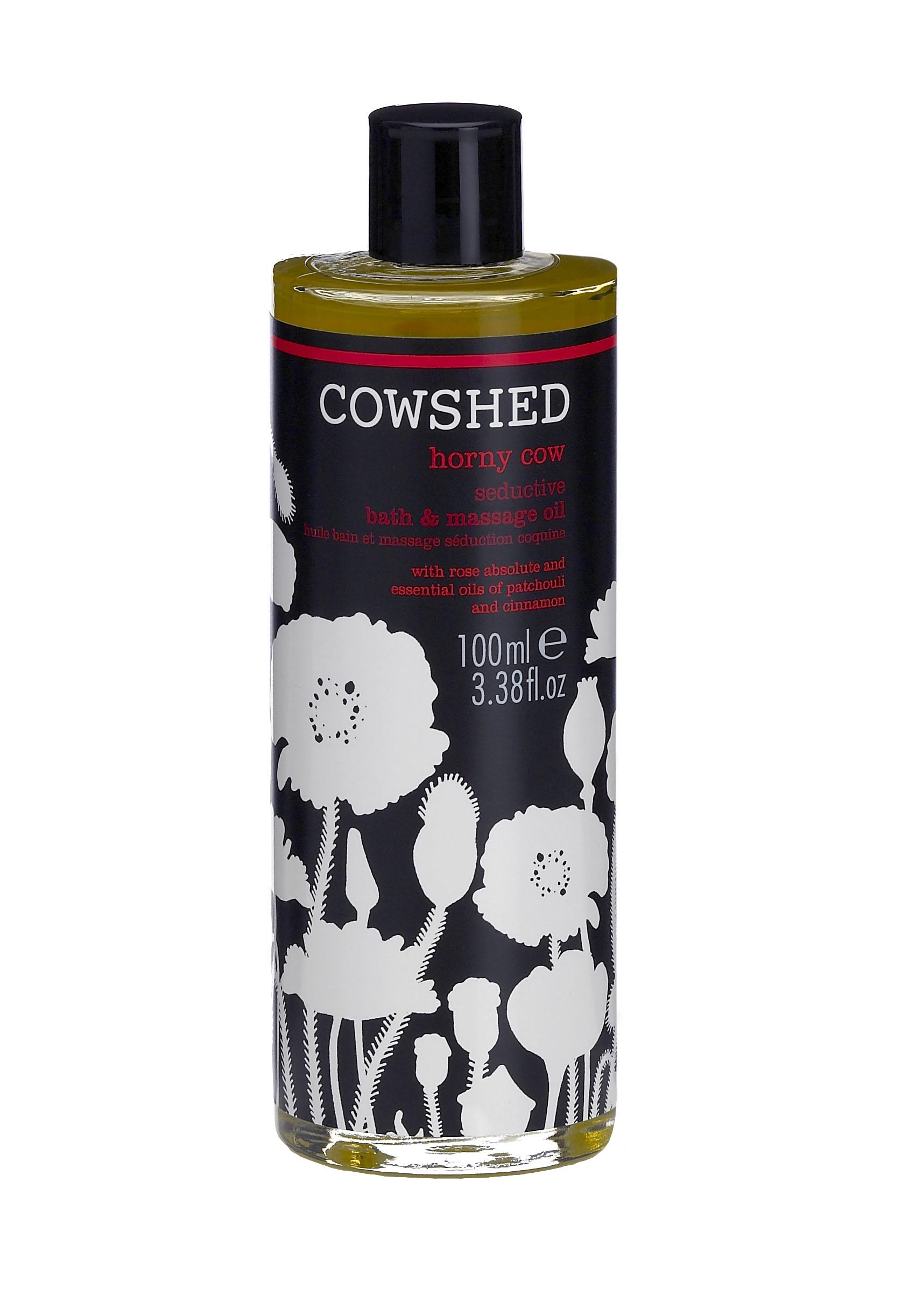 N/A – Cowshed horny cow seductive bath & massage oil 100 ml. på spashop.dk