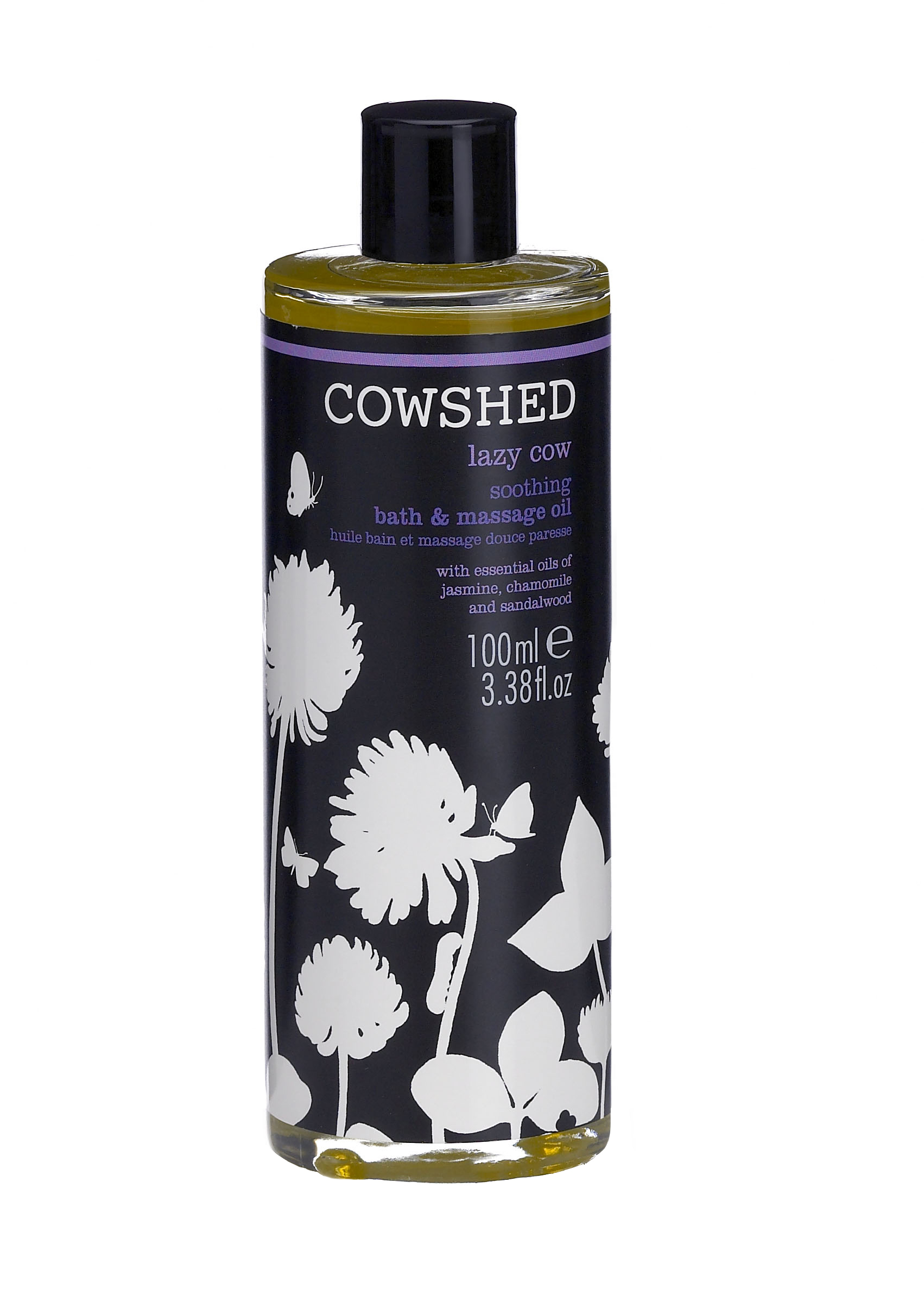 Cowshed lazy cow soothing bath & body oil 100 ml. fra N/A på spashop.dk