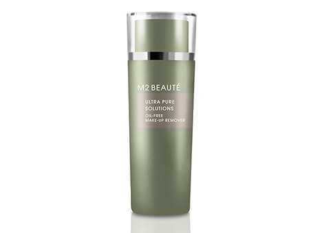 M2 beaute ultra pure solutions oil-free make up remover 150ml fra N/A fra spashop.dk