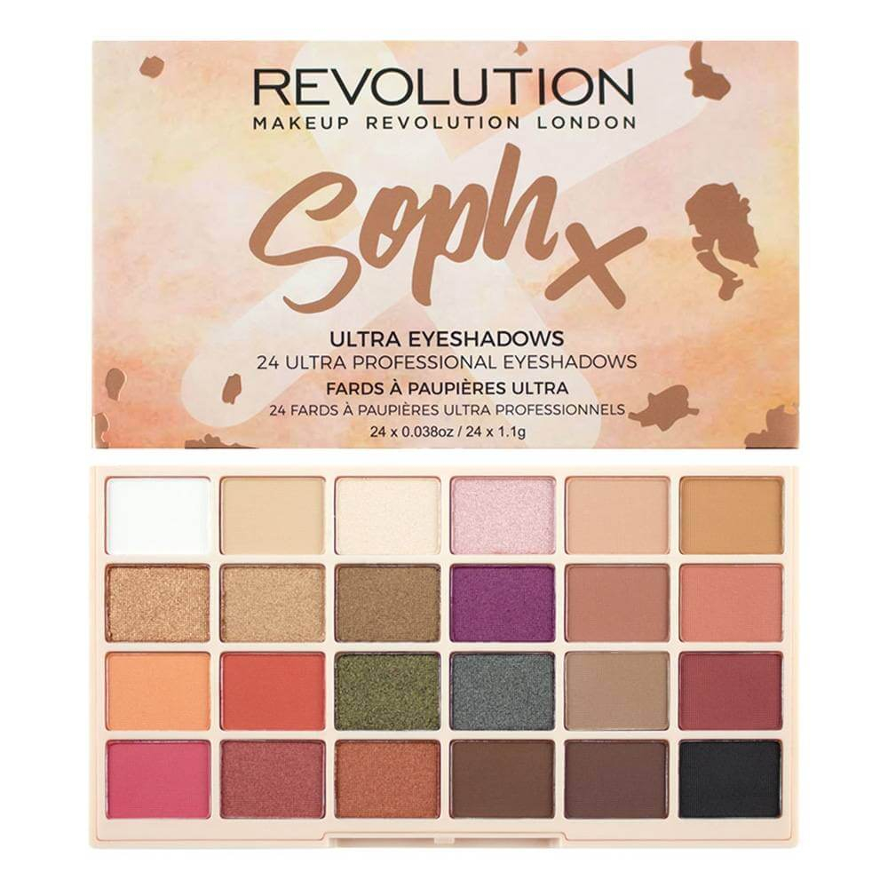 Image of   Makeup Revolution Soph Eyeshadow Palette