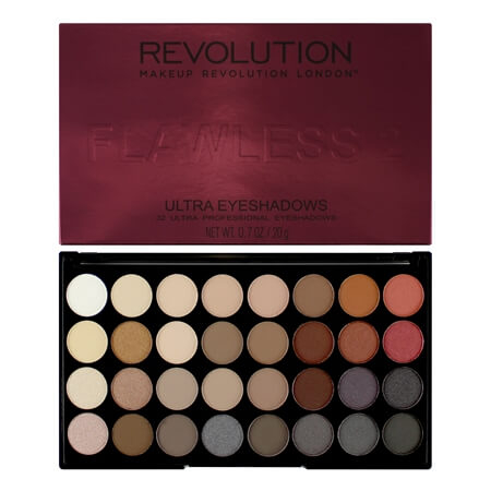 Image of   Makeup Revolution ultra eyeshadow flawless 2