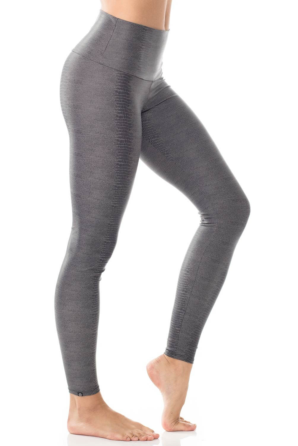 Onzie Long Legging Charcoal Snake-M thumbnail