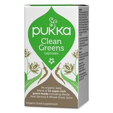 Image of   Clean Greens Pakke -øko