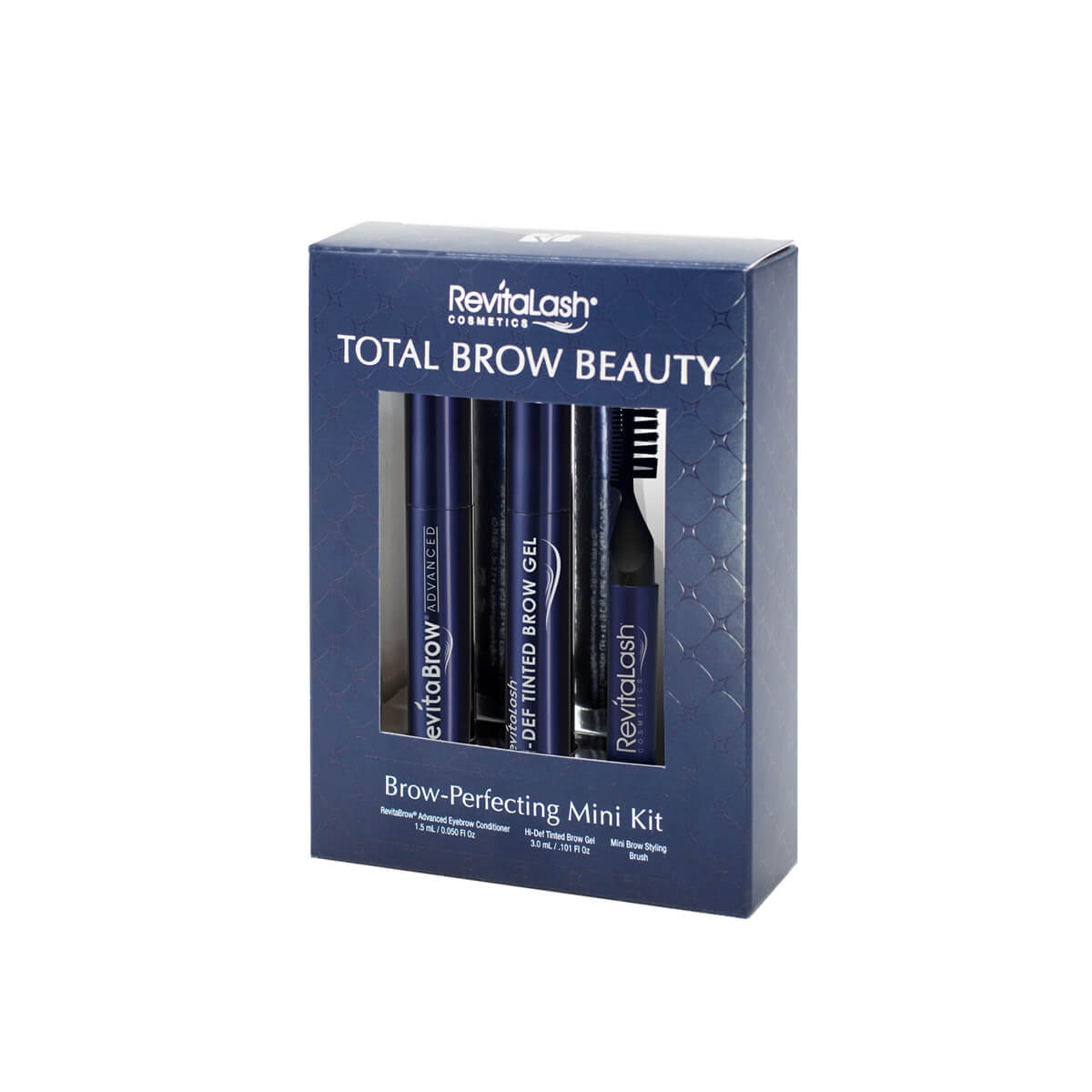 Revitalash total brow beauty brow-perfecting mini kit fra N/A fra spashop.dk