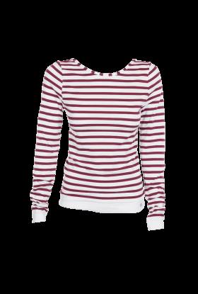 Tilbud på Run and Relax Yoga Sweater – Stripes-S