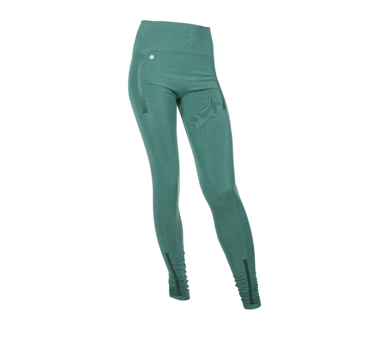 Run and Relax Yoga Tights - Muted Green-M thumbnail