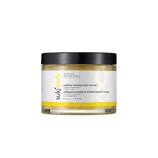 N/A – Suki exfoliate foaming body cleanser 210 ml på spashop.dk
