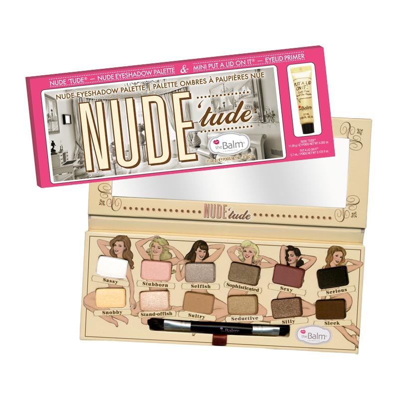Image of   NUDE Tude Nude Eyeshadow Palette