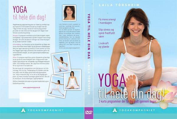 Yoga til hele din dag (dvd) fra N/A på spashop.dk