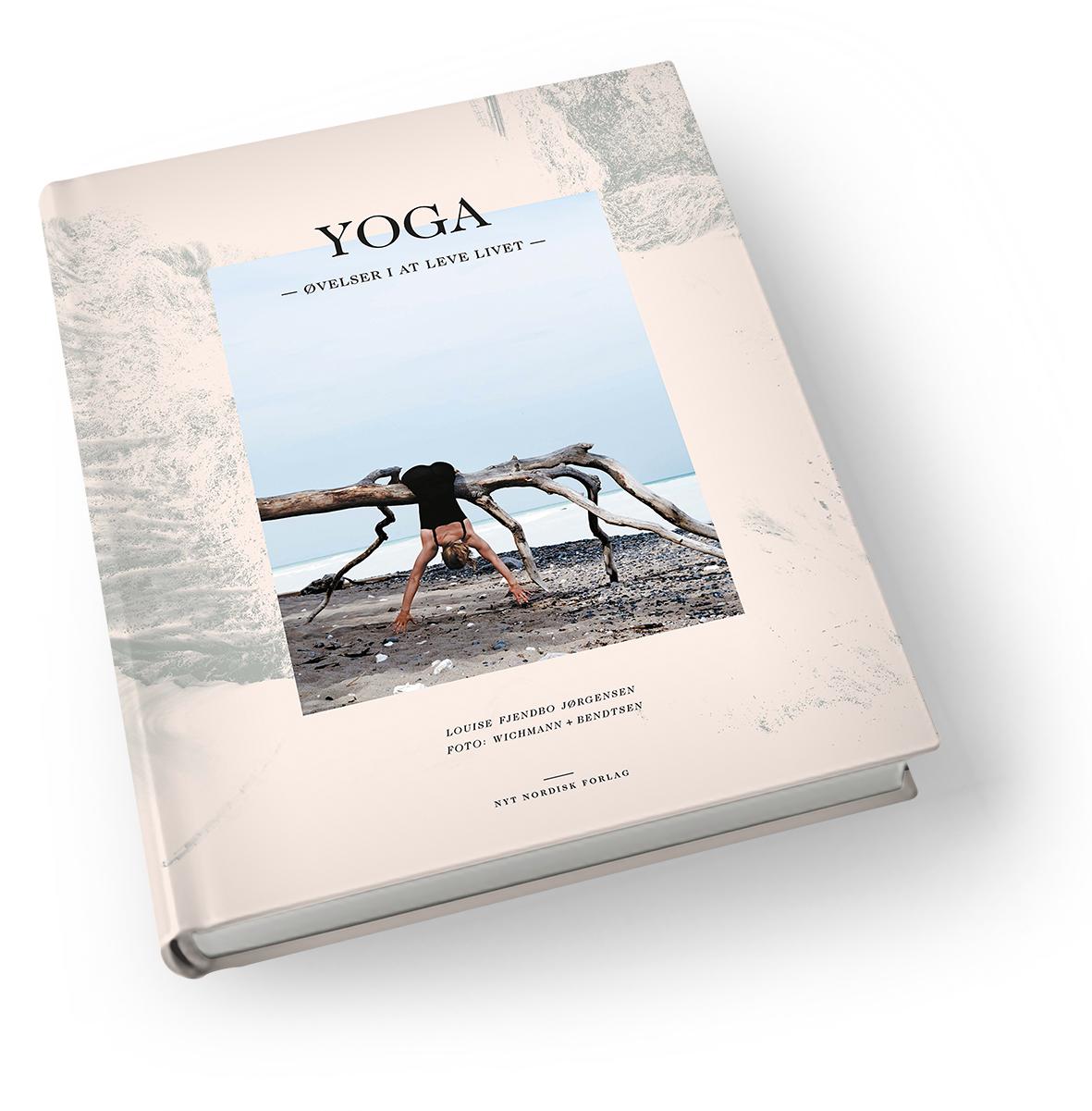Yoga  -  øvelser i at leve livet fra N/A fra spashop.dk