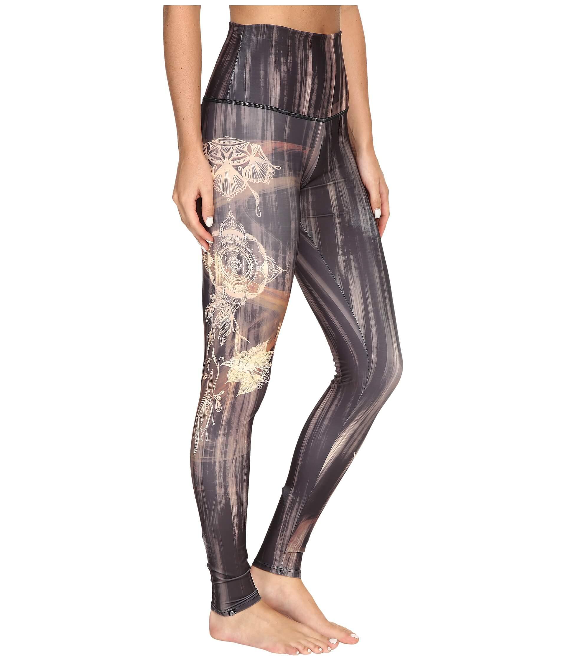 Onzie henna high-rise graphic leggings fra N/A på spashop.dk